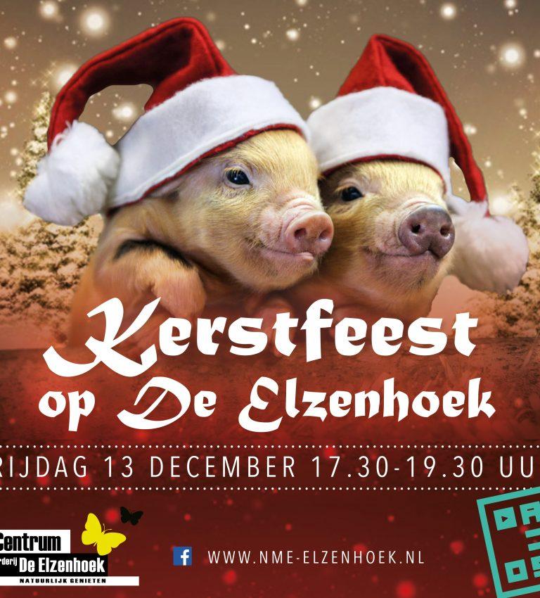 Kerstfeest op De Elzenhoek - NME-Centrum en Kinderboerderij De Elzenhoek